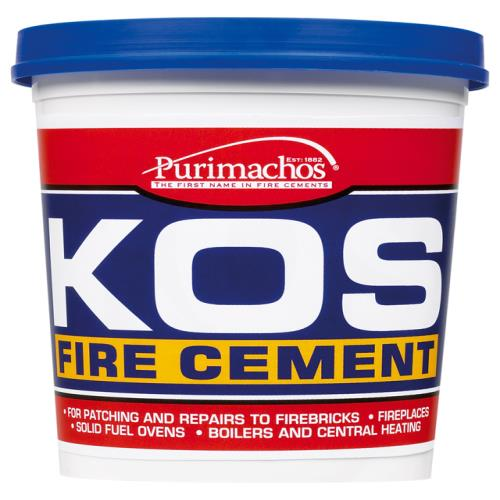 Everbuild Kos Fire Cement Black 2kg