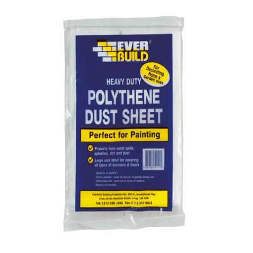 Everbuild Polythene Dust Sheet 12 X 9ft