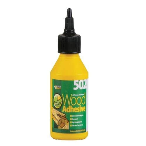 Everbuild Weatherproof Wood Adhesive 125ml