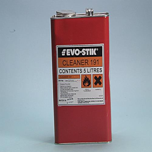 Evo-stik 191 Adhesive Cleaner 5 Litre