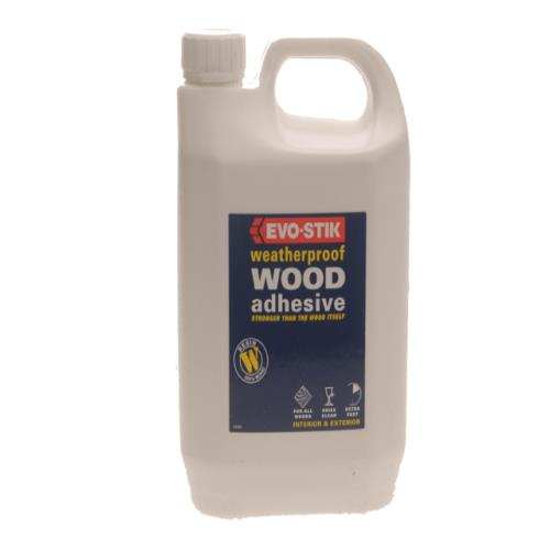 Evo-stik 715813 Resin W Wood Adhesive 2.5l