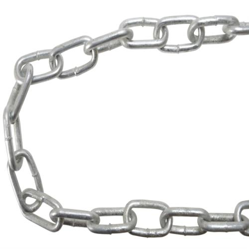 Faithfull Galvanised Chain Link 8 X 10m Reel