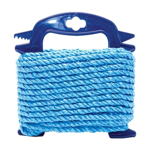 Faithfull Blue Poly Rope 8mm X 15m