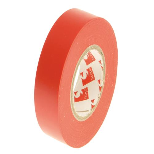 Faithfull Pvc Electrical Tape 19mm 20m Red