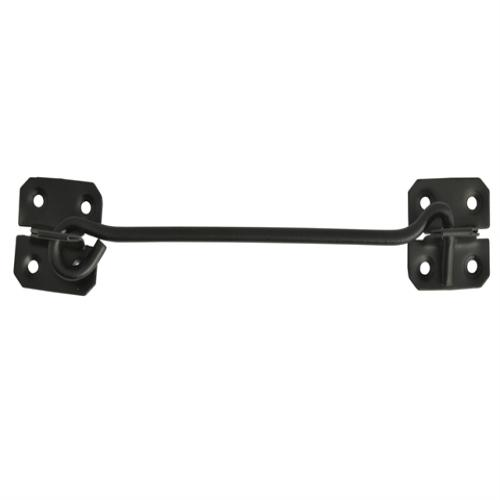 Forge Cabin Hook - Black Powder Coated 200mm