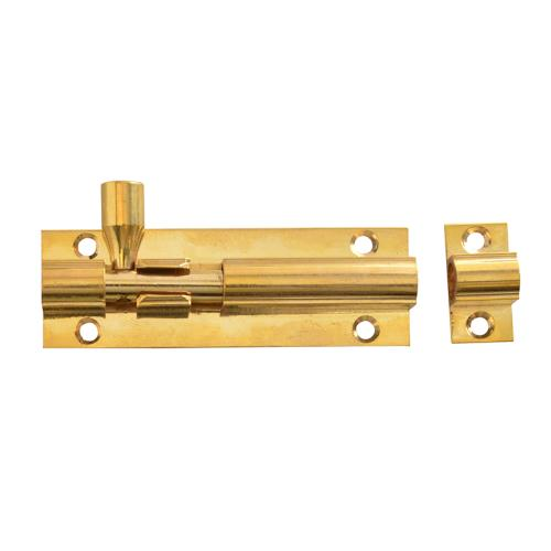 Forge Door Bolt - Brass 75mm (3in)