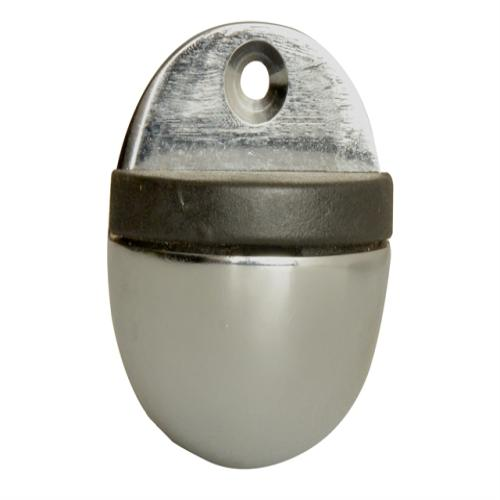 Forge Oval Door Stop Chrome Finish 40mm