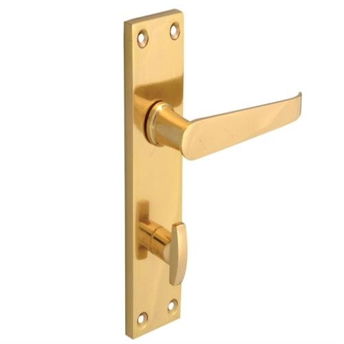 Forge Straight Victorian Brass Finish 150mm