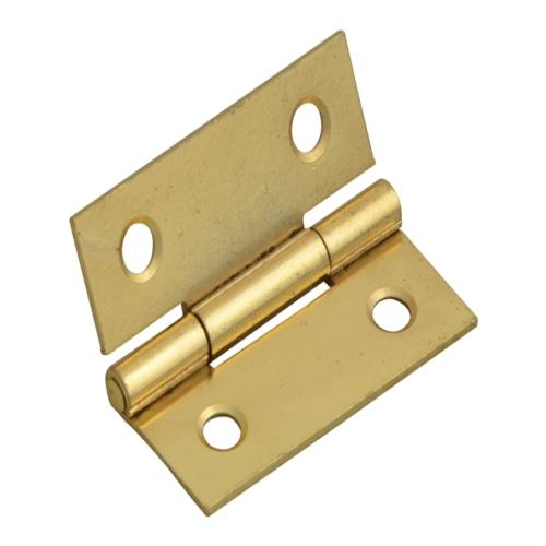 Forge Butt Hinge Brass Finish 40mm (1.5in)
