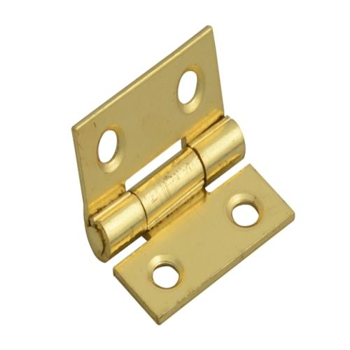 Forge Butt Hinge Brass Finish 25mm (1in)
