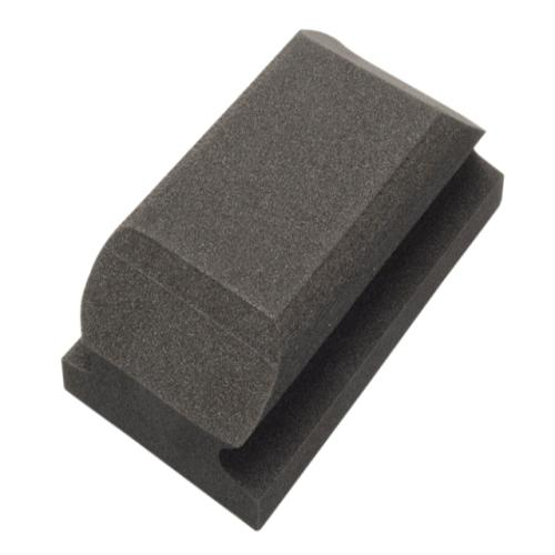 Flexipads Hand Sanding Block Shaped Black