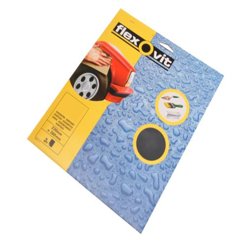 Flexovit Waterproof Sanding Sheets 320g