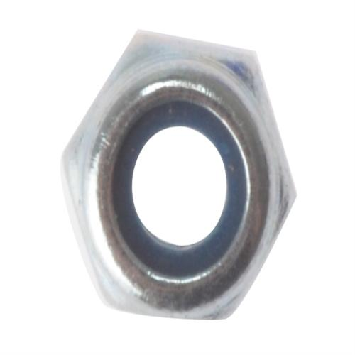 Forgefix Hexagon Nut & Nylon Insert Zp M6