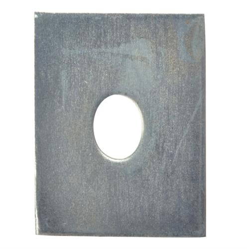 Forgefix Square Plate Washer Zp 50x50x12mm