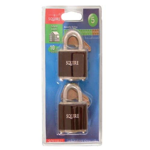 Henry Squire 35t Stronglock Card Padlock 38mm