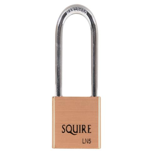 Henry Squire Ln5/2.5 Lion Brass Padlock 5-pin