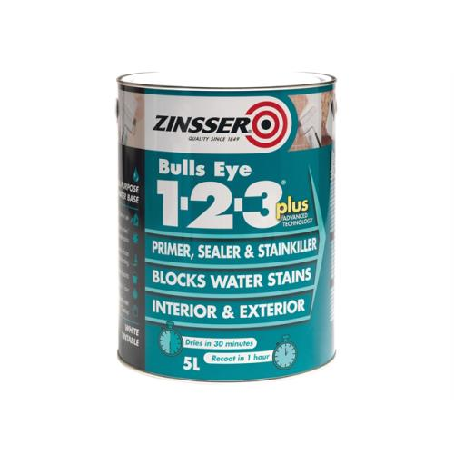 Zinsser 123 Plus Primer & Sealer Paint 1l