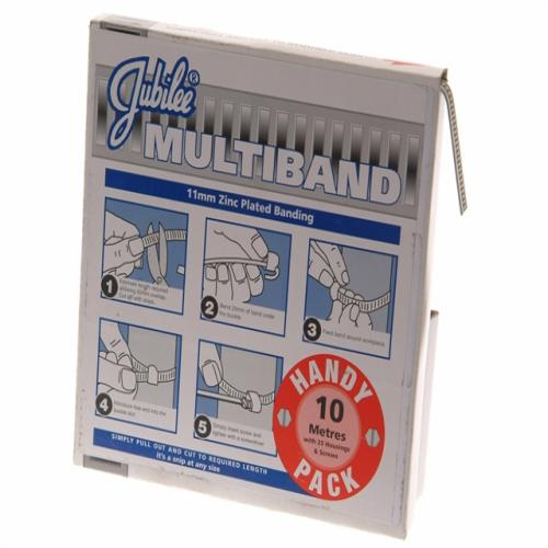 Jubilee Multiband Mild Steel Handy Pack 11mm