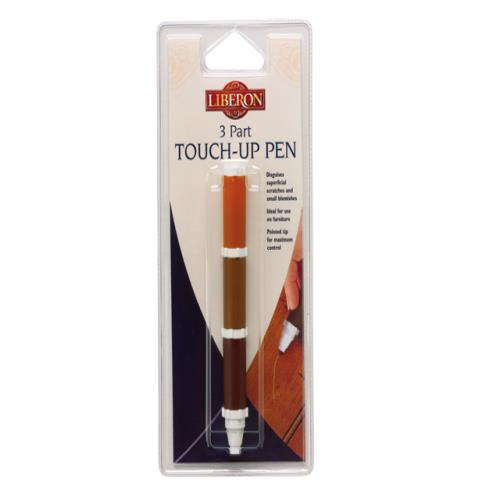 Liberon Touch Up Pen Mahogany 3-part
