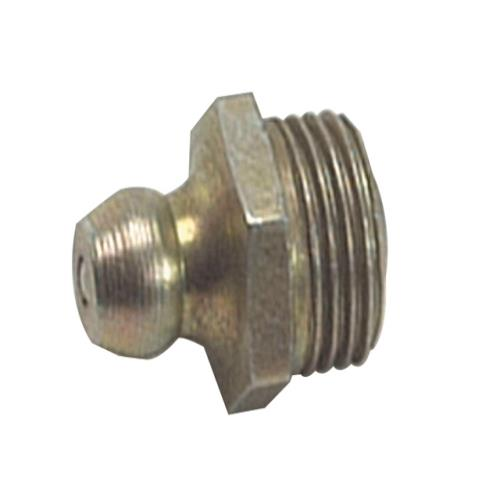 Lumatic Huf6 Hydraulic Nipple Straight 3/8unf