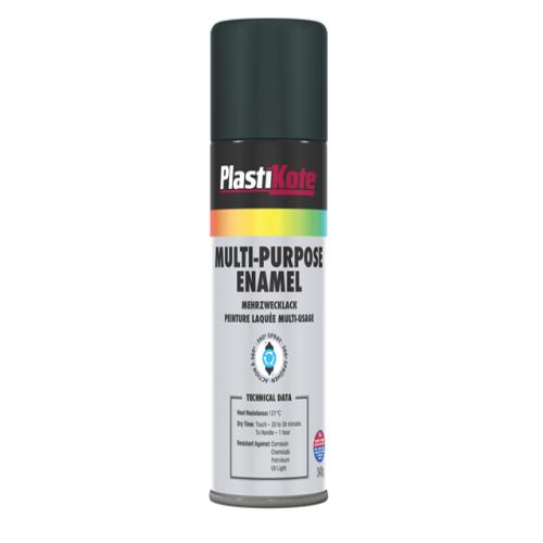 Plasti-kote Multi Purpose Enamel Matt Black