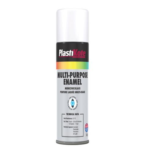 Plasti-kote Multi Purpose Enamel Matt White