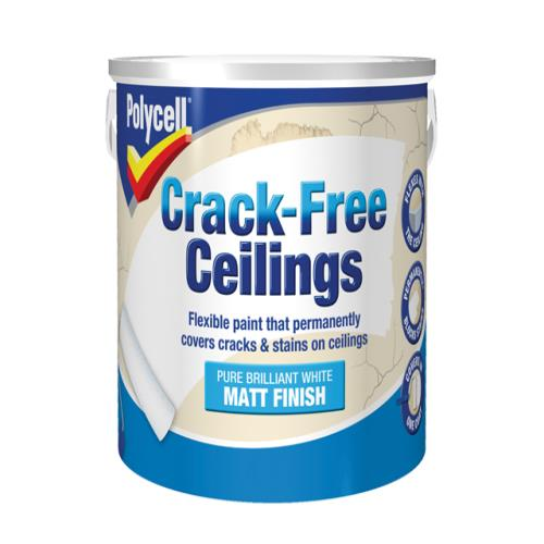 Polycell Crack-free Ceilings Smooth Matt 2.5l