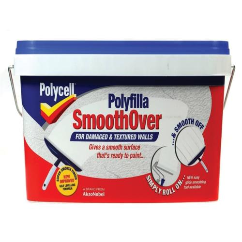 Polycell Smooth Over Damaged/textured Wall 5l