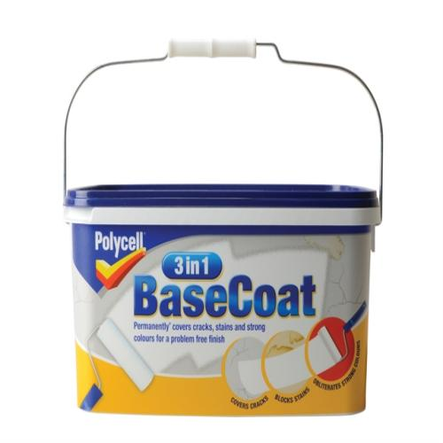 Polycell 3 In 1 Basecoat 5 Litre