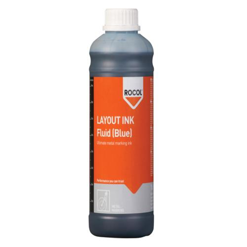 Rocol Layout Ink Fluid-blue 1 Litre