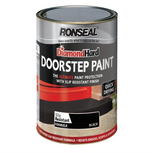 Ronseal Doorstep Paint Black 250ml