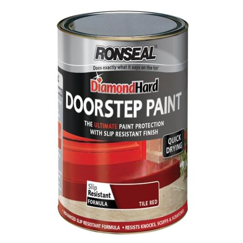 Ronseal Doorstep Paint Red 250ml