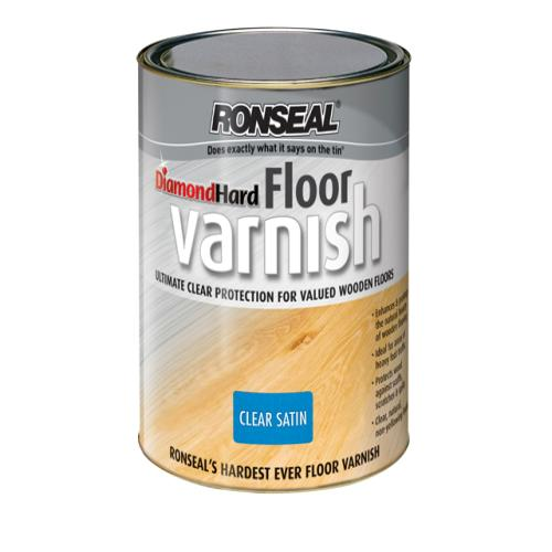 Ronseal Floor Varnish Satin 2.5 Litre