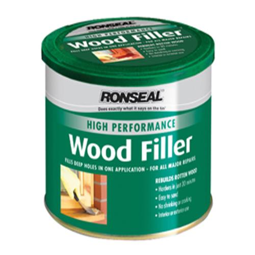 Ronseal Hi-performance Wood Filler White 1kg