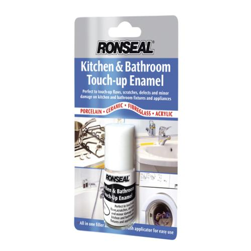 Ronseal Kitchen&bathroom Touch Up Enamel 10ml