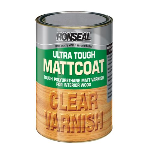 Ronseal Internal Clear Mattcoat Varnish 250ml