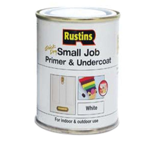 Rustins Smalljob Primer/undercoat White 250ml