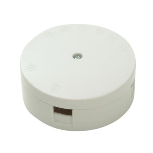 Smj White 4 Terminal Heavy-duty Junction Box
