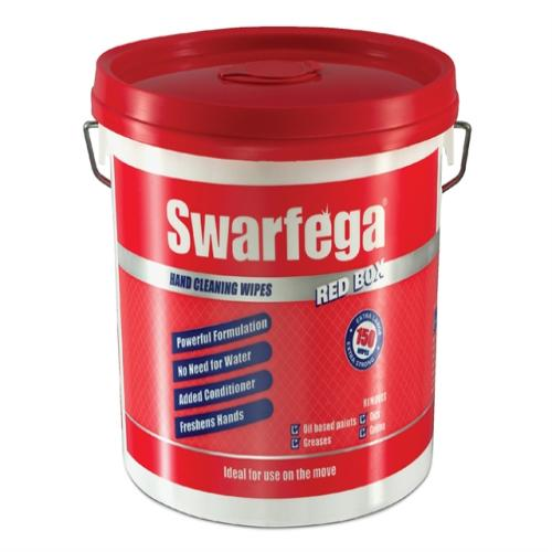 Swarfega Red Box® Heavy-duty Trade Hand Wipes
