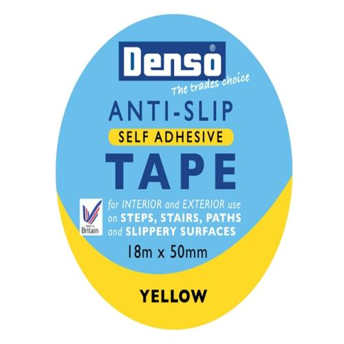 Sylglas Anti-slip Tape 50mm X 18m Yellow