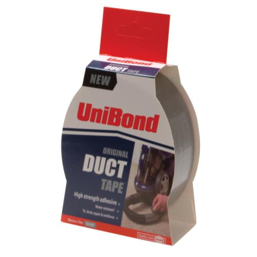 Unibond Duct Tape Silver 50mm X 25m