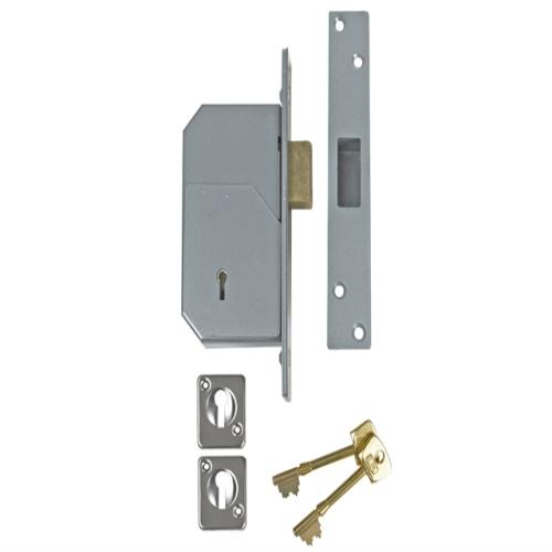 Union 3g110 5 Detainer Deadlock Satin Brass