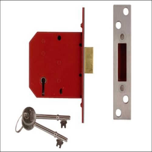 Union 2101 Deadlock Brass Finish 2.5