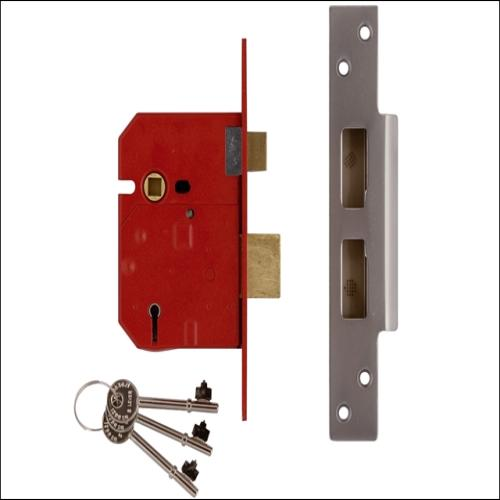 Union 2234e Sashlock Satin Chrome Finish 2.5