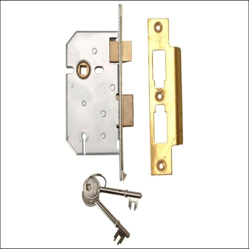 Union 2277 Sashlock Polished Brass 2.5
