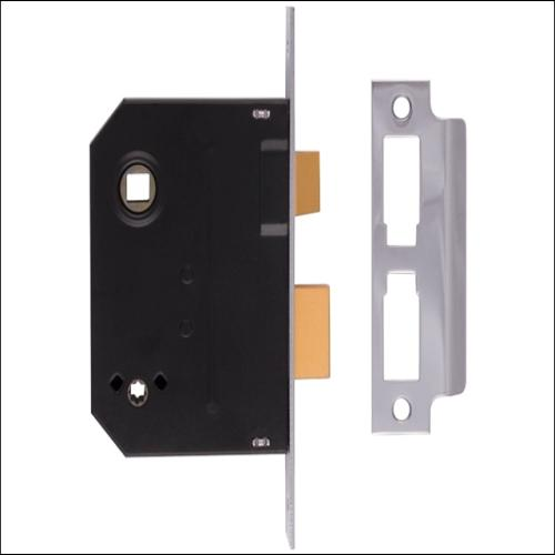 Union 2294 Bathroom Lock Polished Brass 3