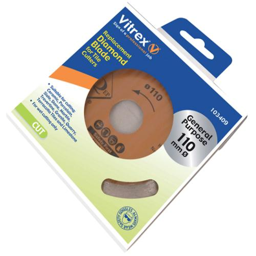 Vitrex Diamond Blade Standard 110mm
