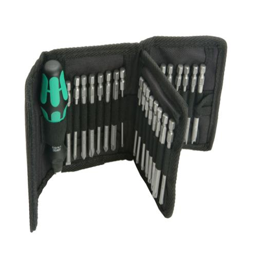 wera 62 screwdriver bit holding set of 33 tool britannia. Black Bedroom Furniture Sets. Home Design Ideas