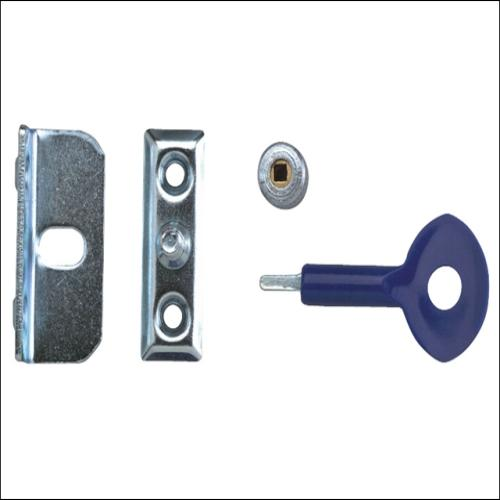 Yale P121 Window Screw Locks Satin Chrome Pk6