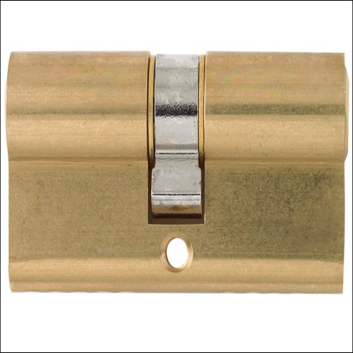 Yale Double Tube 40x45 Polished Brass Visi